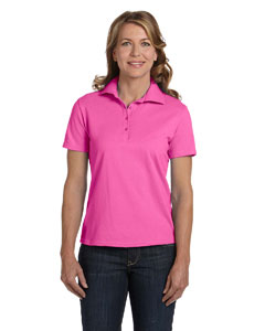 Pink Women's 7 oz. ComfortSoft® Cotton Piqué Polo