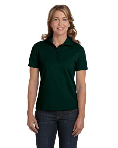 Deep Forest Women's 7 oz. ComfortSoft® Cotton Piqué Polo