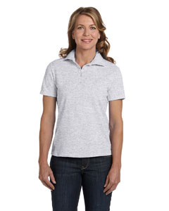 Ash Women's 7 oz. ComfortSoft® Cotton Piqué Polo