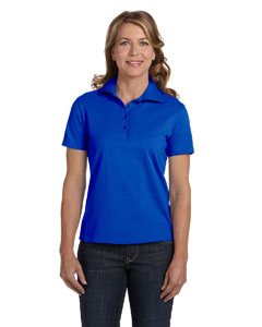 Deep Royal Women's 7 oz. ComfortSoft® Cotton Piqué Polo