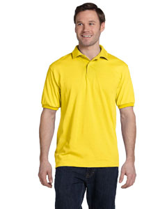 Yellow 5.2 oz., 50/50 ComfortBlend® EcoSmart® Jersey Knit Polo