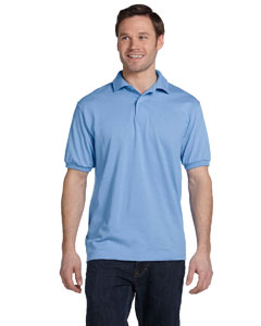 Light Blue 5.2 oz., 50/50 ComfortBlend® EcoSmart® Jersey Knit Polo