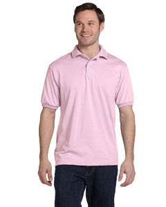 Pale Pink 5.2 oz., 50/50 ComfortBlend® EcoSmart® Jersey Knit Polo