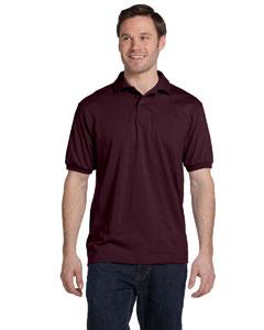 Maroon 5.2 oz., 50/50 ComfortBlend® EcoSmart® Jersey Knit Polo