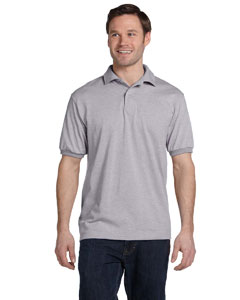 Light Steel 5.2 oz., 50/50 ComfortBlend® EcoSmart® Jersey Knit Polo