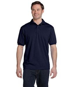 Navy 5.2 oz., 50/50 ComfortBlend® EcoSmart® Jersey Knit Polo