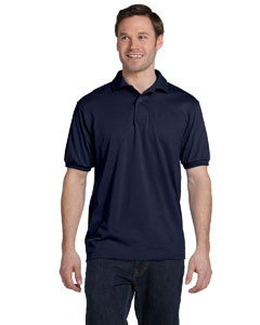 Deep Royal 5.2 oz., 50/50 ComfortBlend® EcoSmart® Jersey Knit Polo