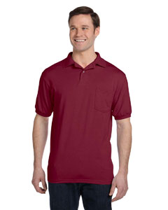 Cardinal 5.2 oz., 50/50 EcoSmart® Jersey Pocket Polo