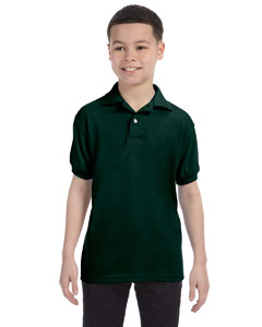 Deep Forest Youth 5.2 oz., 50/50 ComfortBlend® EcoSmart® Jersey Knit Polo