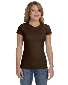 Chocolate Women's Baby Rib Short-Sleeve T-Shirt