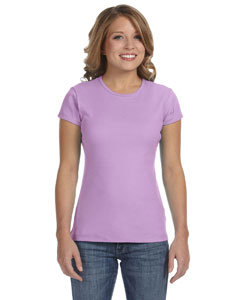 Lilac Women's Baby Rib Short-Sleeve T-Shirt