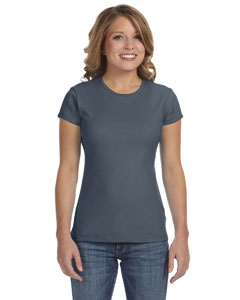 Deep Heather Women's Baby Rib Short-Sleeve T-Shirt