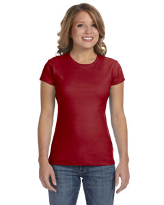 Cardinal Women's Baby Rib Short-Sleeve T-Shirt
