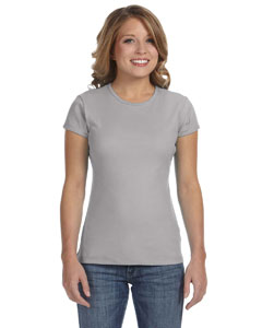 Athletic Heather Women's Baby Rib Short-Sleeve T-Shirt