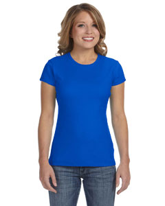 True Royal Women's Baby Rib Short-Sleeve T-Shirt