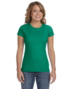 Kelly Women's Baby Rib Short-Sleeve T-Shirt