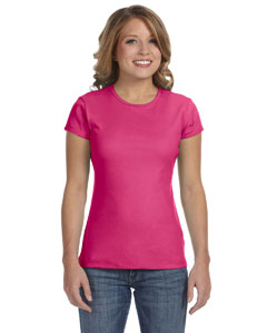 Raspberry Women's Baby Rib Short-Sleeve T-Shirt