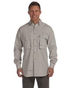 Sand Men's Gulf Stream Long-Sleeve Fishing Shirt