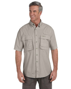 Sand Men's Gulf Stream Short-Sleeve Fishing Shirt