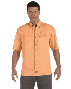 Mango Men's Peninsula Short-Sleeve Performance Fishing Shirt