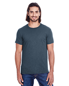 Charcoal Slub Men's Slub Jersey Short-Sleeve Tee