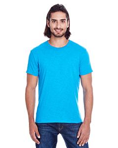 Turquoise Slub Men's Slub Jersey Short-Sleeve Tee