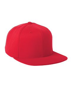 Red 110 Wool Blend Solid Cap