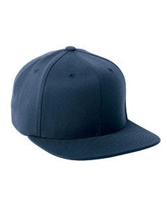 Navy 110 Wool Blend Solid Cap