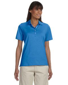 Absolute Blue Women's High Twist Cotton Tech Polo
