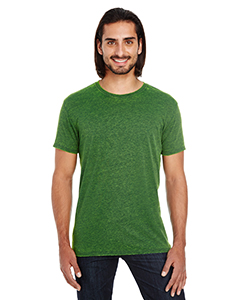 Emerald Unisex Cross Dye Short-Sleeve Tee