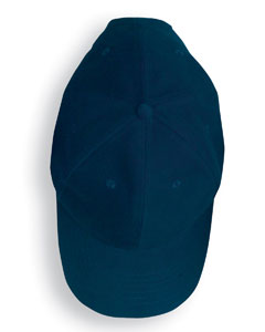Navy Solid Brushed Twill Cap