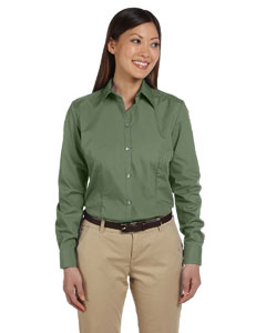 Sea Grass Women's Solid Silky Poplin