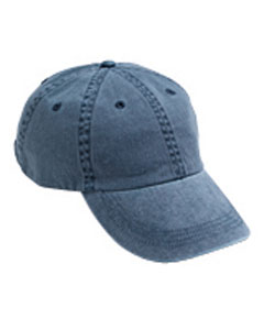 Navy Solid Low-Profile Pigment-Dyed Cap