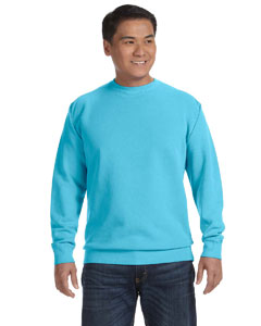 Lagoon Blue 9.5 oz. Garment-Dyed Fleece Crew