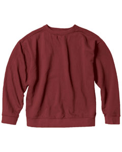 Crimson 9.5 oz. Garment-Dyed Fleece Crew