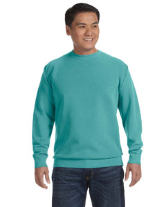 Seafoam 9.5 oz. Garment-Dyed Fleece Crew