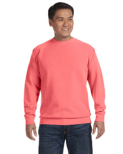 Watermelon 9.5 oz. Garment-Dyed Fleece Crew