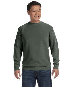 Willow 9.5 oz. Garment-Dyed Fleece Crew