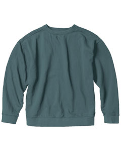 Blue Spruce 9.5 oz. Garment-Dyed Fleece Crew