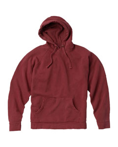Crimson 9.5 oz. Garment-Dyed Pullover Hood