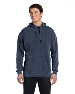 Denim 9.5 oz. Garment-Dyed Pullover Hood