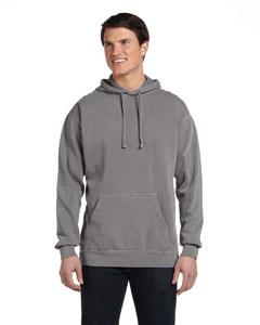 Grey 9.5 oz. Garment-Dyed Pullover Hood