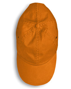 Burnt Orange Solid Low-Profile Twill Cap