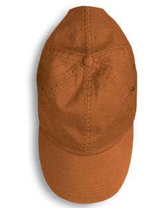 Texas Orange Solid Low-Profile Twill Cap