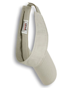 Wheat Solid Low-Profile Twill Visor