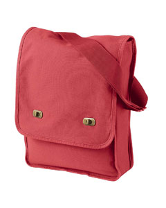 Poppy 14 oz. Pigment-Dyed Canvas Field Bag