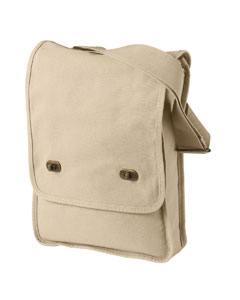 Putty 14 oz. Pigment-Dyed Canvas Field Bag