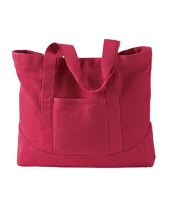 Poppy 14 oz. Pigment-Dyed Large Canvas Tote