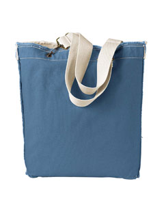 Bluegrass 14 oz. Direct-Dyed Raw-Edge Tote