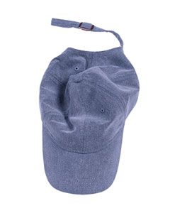 Periwinkle Pigment-Dyed Baseball Cap